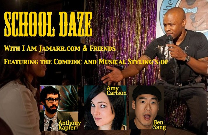 Come get your laugh on through Comedy, music and every combination in between!