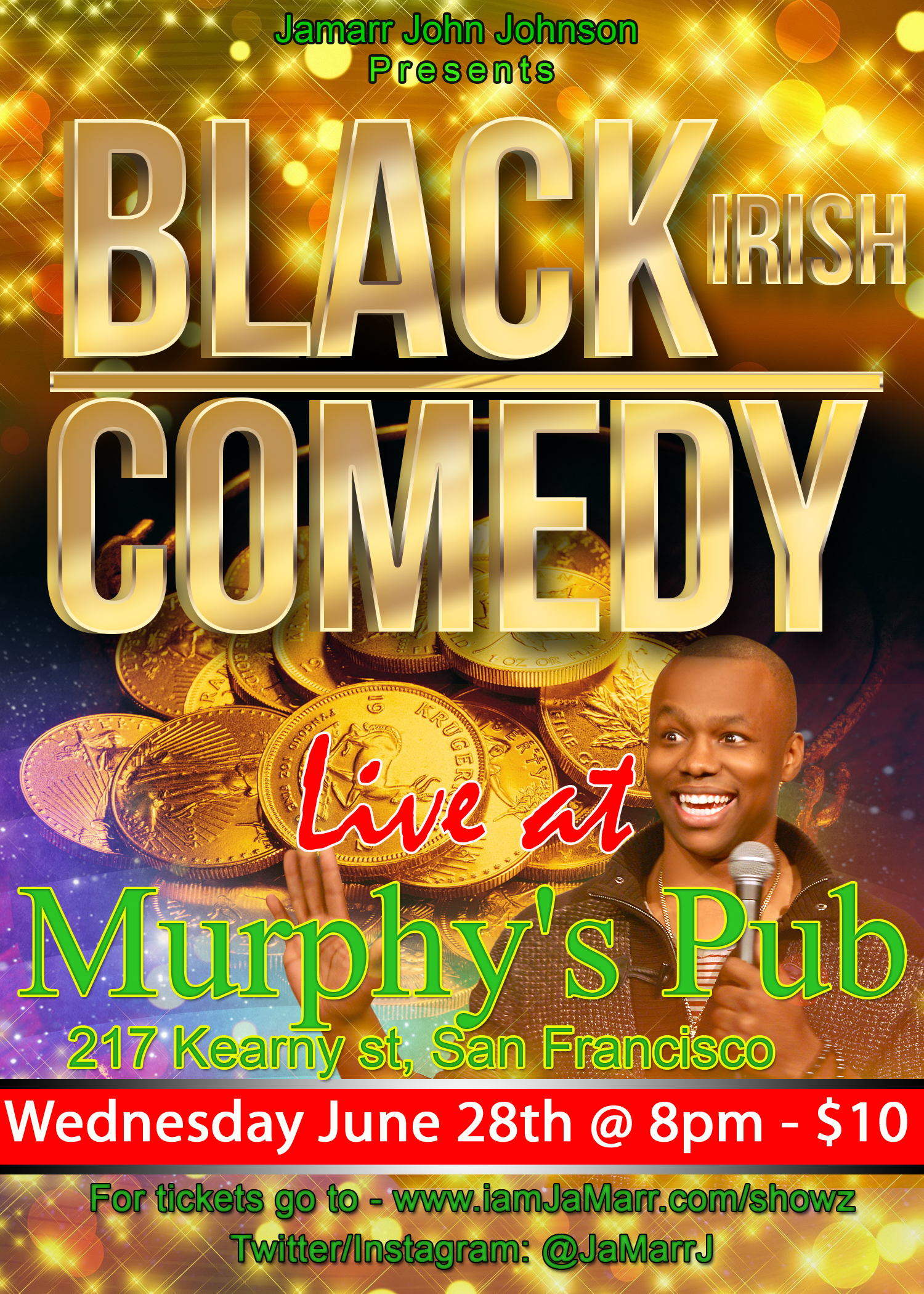 Black-Irish Comedy